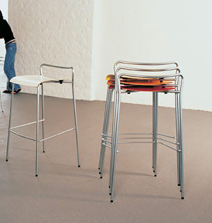 Chip Barstool by Knoll for sale at Home Resource Modern Furniture Store Sarasota Florida
