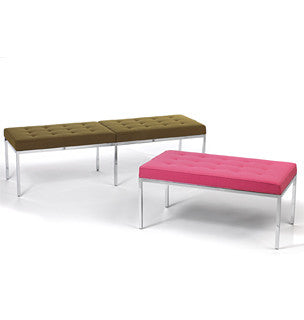 Florence Knoll Bench  by Knoll, available at the Home Resource furniture store Sarasota Florida