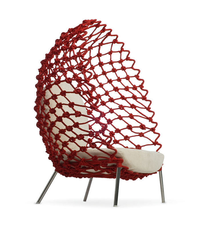Dragnet Lounge Chair  by Kenneth Cobonpue, available at the Home Resource furniture store Sarasota Florida