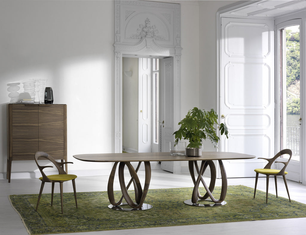 Infinity Table  by Porada, available at the Home Resource furniture store Sarasota Florida