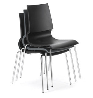 Gigi Stacking Chair by Knoll for sale at Home Resource Modern Furniture Store Sarasota Florida