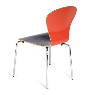 Sprite Stacking Chair  by Knoll, available at the Home Resource furniture store Sarasota Florida