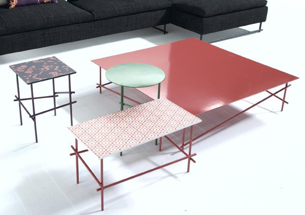 Shanghai Tip Coffee Table  by MOROSO, available at the Home Resource furniture store Sarasota Florida