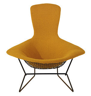 Bertoia Bird Lounge Chair and Ottoman by Knoll