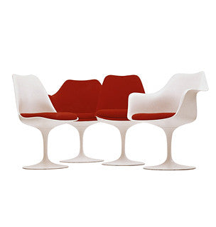 Tulip Chair  by Knoll, available at the Home Resource furniture store Sarasota Florida