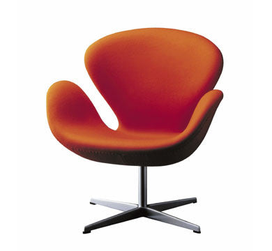 Swan chair  by Fritz Hansen, available at the Home Resource furniture store Sarasota Florida