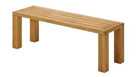 Square Bench by Gloster for sale at Home Resource Modern Furniture Store Sarasota Florida