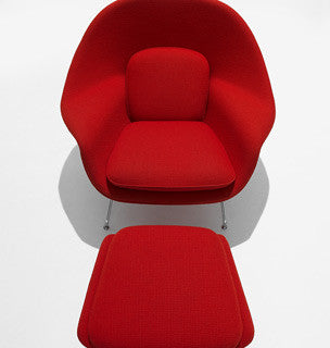 Saarinen Womb Chair and Ottoman by Knoll for sale at Home Resource Modern Furniture Store Sarasota Florida