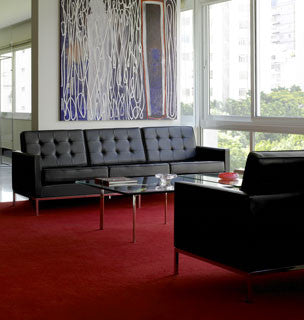 Florence Knoll Lounge Seating by Knoll for sale at Home Resource Modern Furniture Store Sarasota Florida