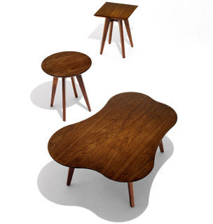 Risom Side Tables by Knoll for sale at Home Resource Modern Furniture Store Sarasota Florida