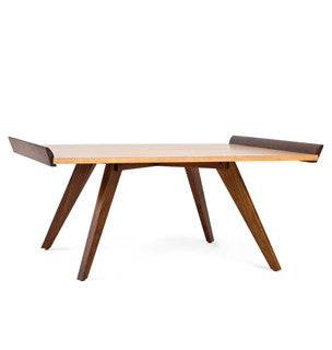 Splay-Leg Table and Tray  by Knoll, available at the Home Resource furniture store Sarasota Florida