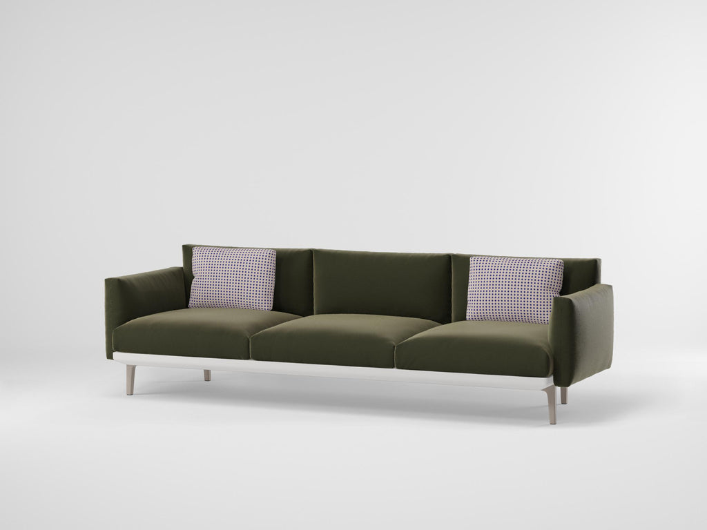 BOMA 3 SEATER SOFA  by Kettal, available at the Home Resource furniture store Sarasota Florida