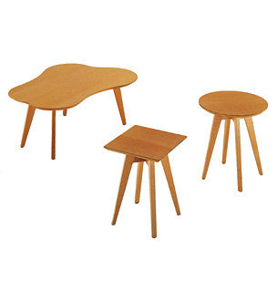 Risom Side Tables  by Knoll, available at the Home Resource furniture store Sarasota Florida