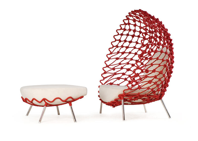 Dragnet Lounge Chair by Kenneth Cobonpue for sale at Home Resource Modern Furniture Store Sarasota Florida