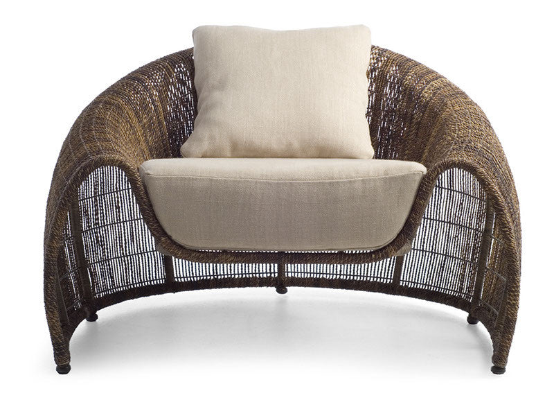 Croissant Easy Chair by Kenneth Cobonpue for sale at Home Resource Modern Furniture Store Sarasota Florida