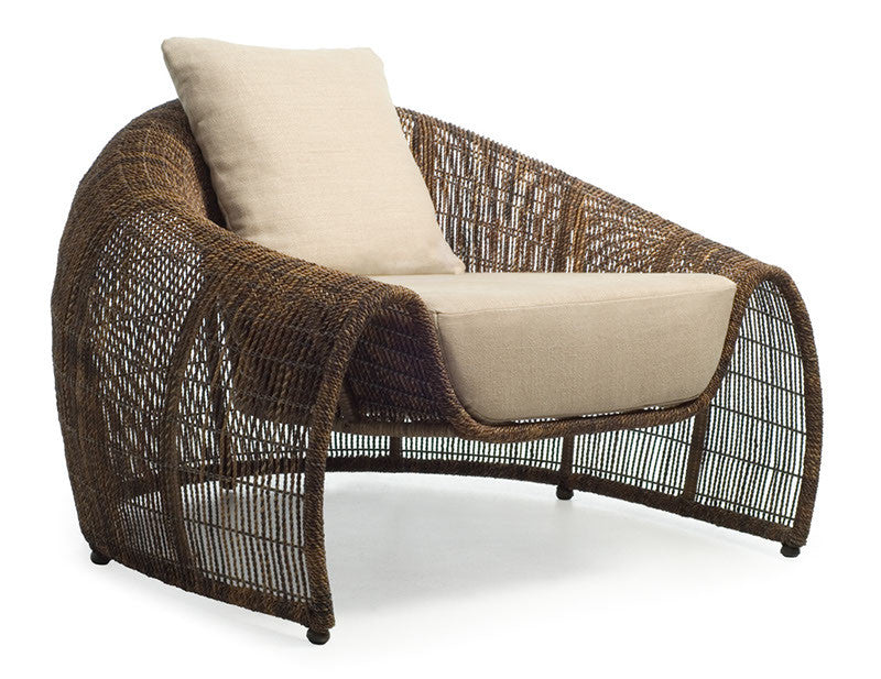 Croissant Easy Chair  by Kenneth Cobonpue, available at the Home Resource furniture store Sarasota Florida
