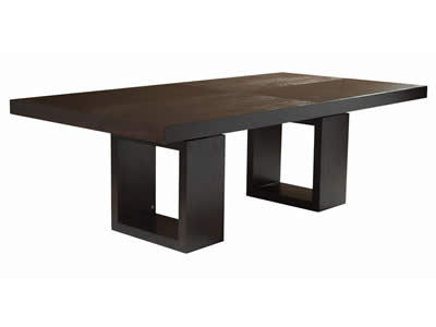 Cafe Dining Table  by Adriana Hoyos, available at the Home Resource furniture store Sarasota Florida
