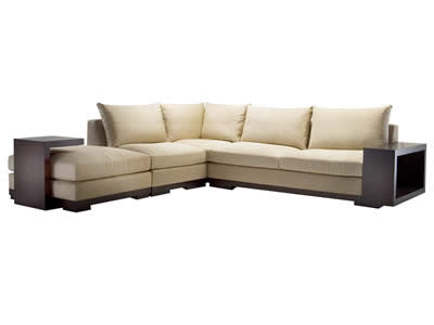 Caramelo Sectional by Adriana Hoyos