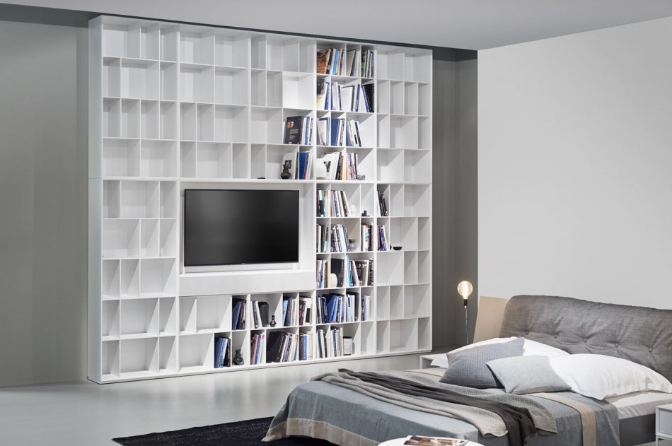 ALEA BOOKCASE  by KETTNAKER, available at the Home Resource furniture store Sarasota Florida