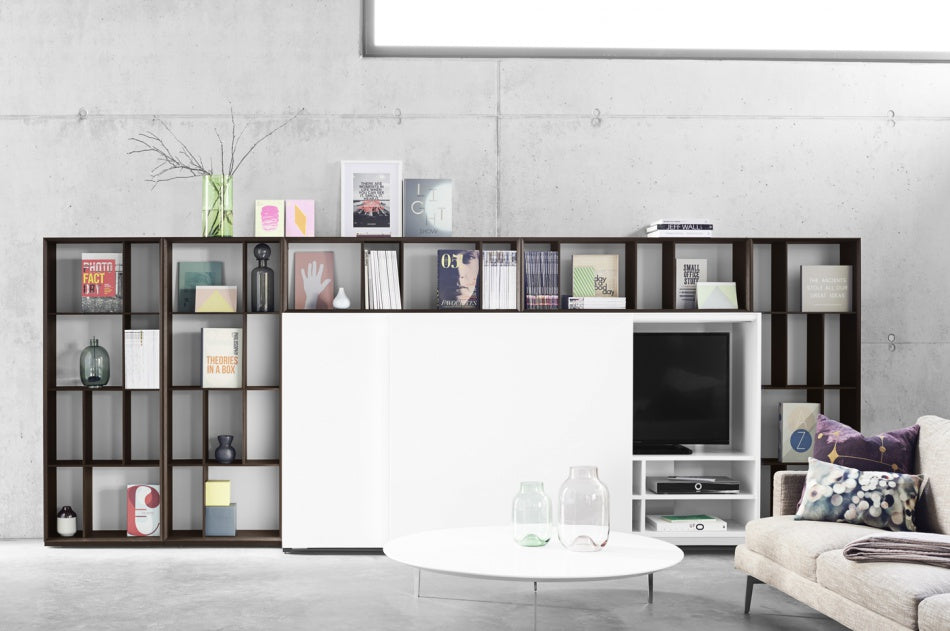 ALEA WALL SHELVING  by KETTNAKER, available at the Home Resource furniture store Sarasota Florida