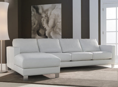 Alessandro Sofa  by American Leather, available at the Home Resource furniture store Sarasota Florida