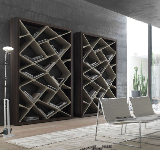 Shanghai Bookcase by ALIVAR for sale at Home Resource Modern Furniture Store Sarasota Florida