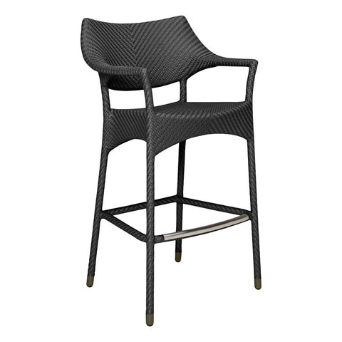 AMARI BARSTOOL WITH ARMS by Janus et Cie