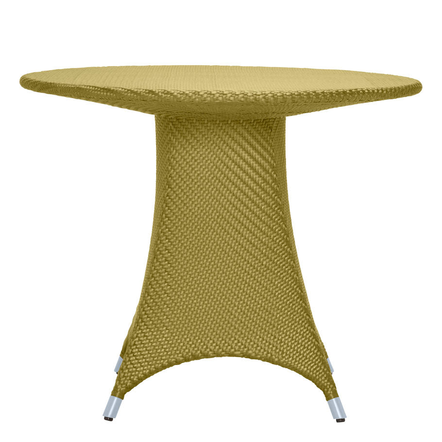 AMARI FULLY WOVEN DINING TABLE  by Janus et Cie, available at the Home Resource furniture store Sarasota Florida