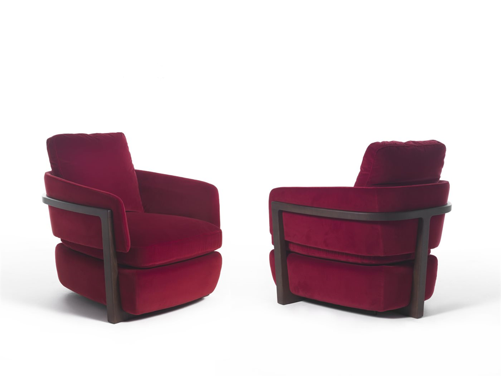 ARENA LOUNGE CHAIR  by Porada, available at the Home Resource furniture store Sarasota Florida