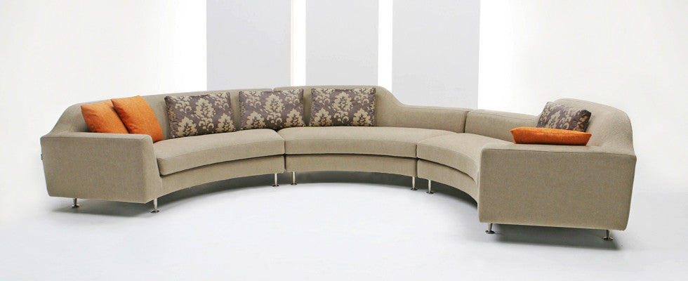 Avalon Sectional Sofa  by Dellarobbia, available at the Home Resource furniture store Sarasota Florida