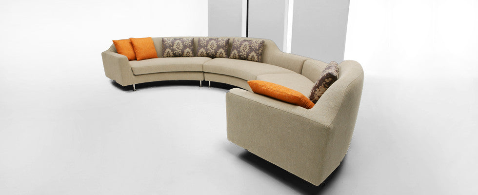 Avalon Sectional Sofa by Dellarobbia for sale at Home Resource Modern Furniture Store Sarasota Florida
