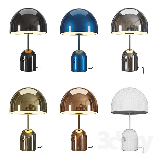BELL TABLE LAMP by TOM DIXON for sale at Home Resource Modern Furniture Store Sarasota Florida