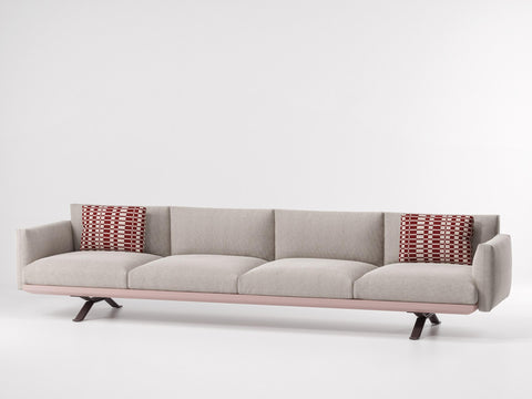 BOMA 4 SEATER SOFA by Kettal