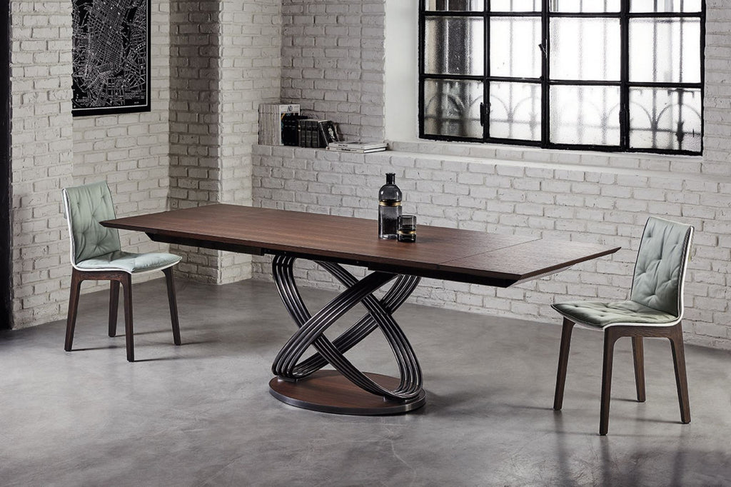 FUSION DINING TABLE by BonTempi for sale at Home Resource Modern Furniture Store Sarasota Florida