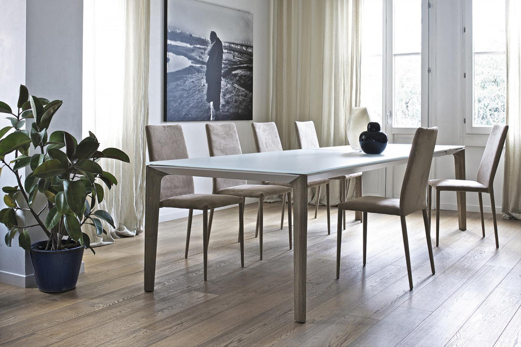 VERSUS DINING TABLE by BonTempi for sale at Home Resource Modern Furniture Store Sarasota Florida