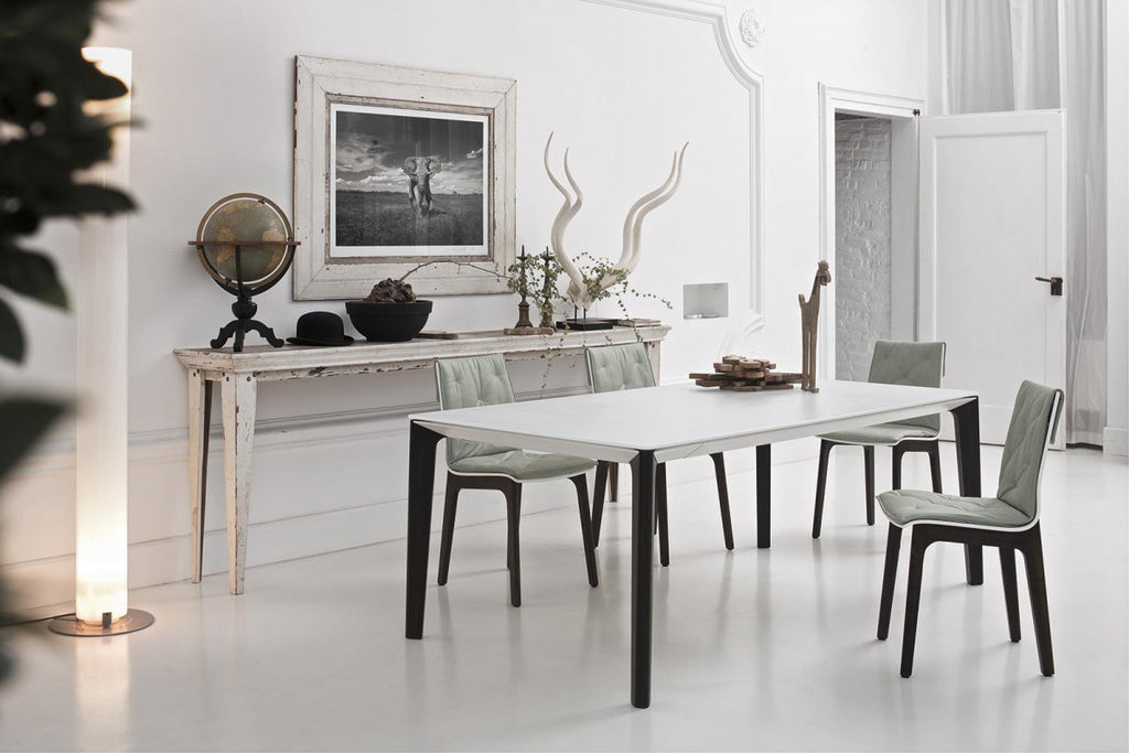VERSUS DINING TABLE  by BonTempi, available at the Home Resource furniture store Sarasota Florida