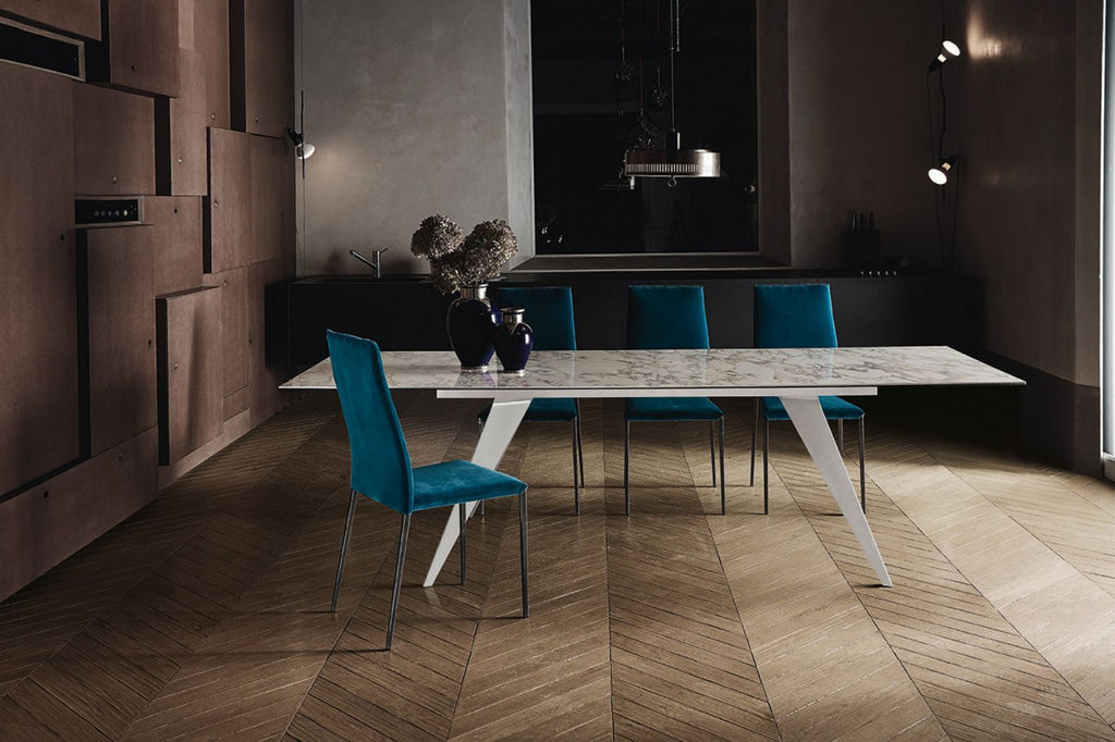 RAMOS DINING TABLE  by BonTempi, available at the Home Resource furniture store Sarasota Florida