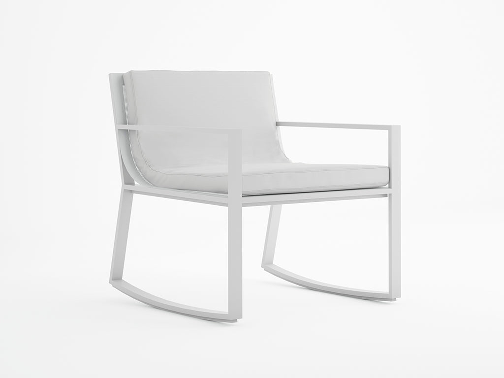 BLAU ROCKING CHAIR  by Gandia Blasco, available at the Home Resource furniture store Sarasota Florida