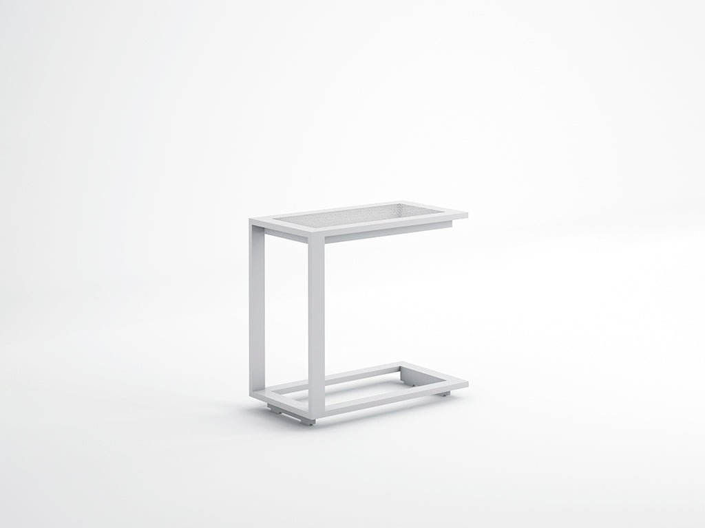 BLAU SIDE TABLE  by Gandia Blasco, available at the Home Resource furniture store Sarasota Florida