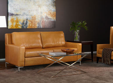 BRYSON COMFORT SLEEPER by American Leather for sale at Home Resource Modern Furniture Store Sarasota Florida
