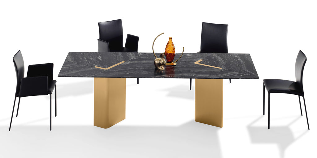 KALLISTO DINING TABLE  by DRAENERT, available at the Home Resource furniture store Sarasota Florida