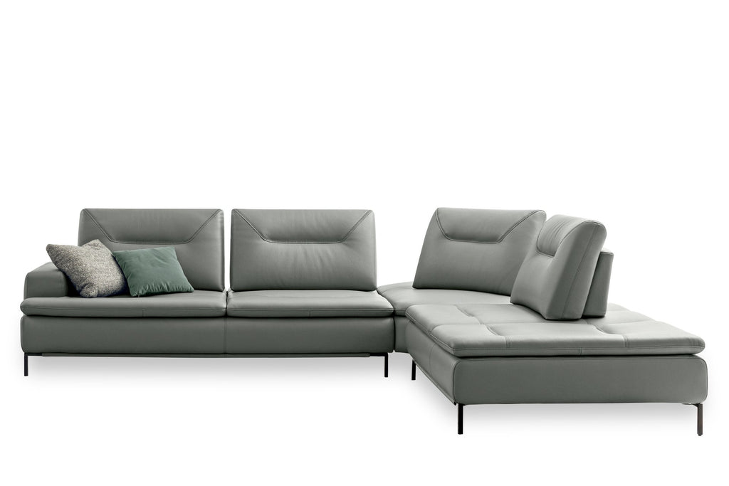 CAVOUR SECTIONAL  by NICOLINE, available at the Home Resource furniture store Sarasota Florida
