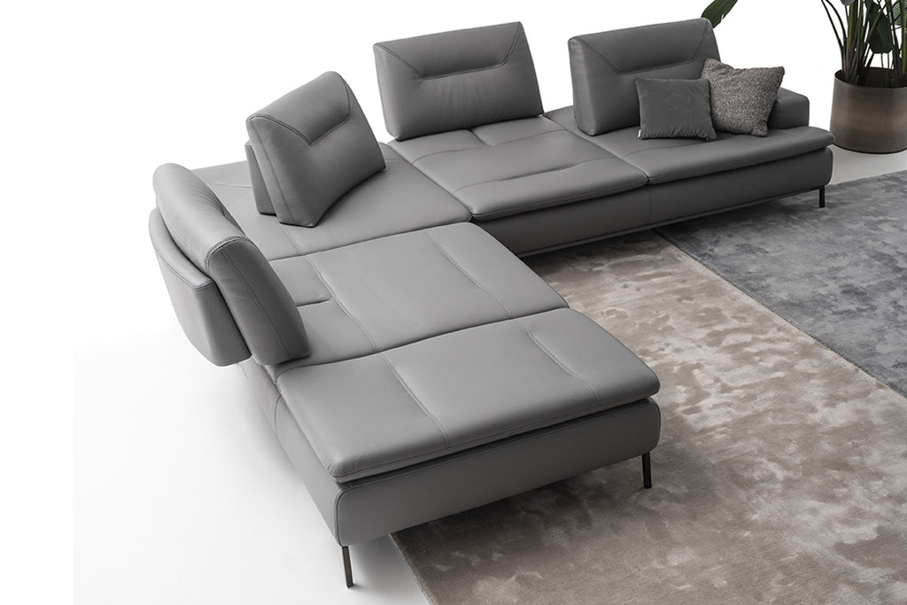 CAVOUR SECTIONAL by NICOLINE for sale at Home Resource Modern Furniture Store Sarasota Florida