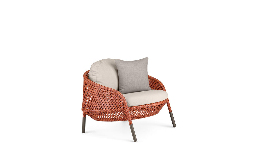 AHNDA LOW BACK LOUNGE CHAIR  by Dedon, available at the Home Resource furniture store Sarasota Florida