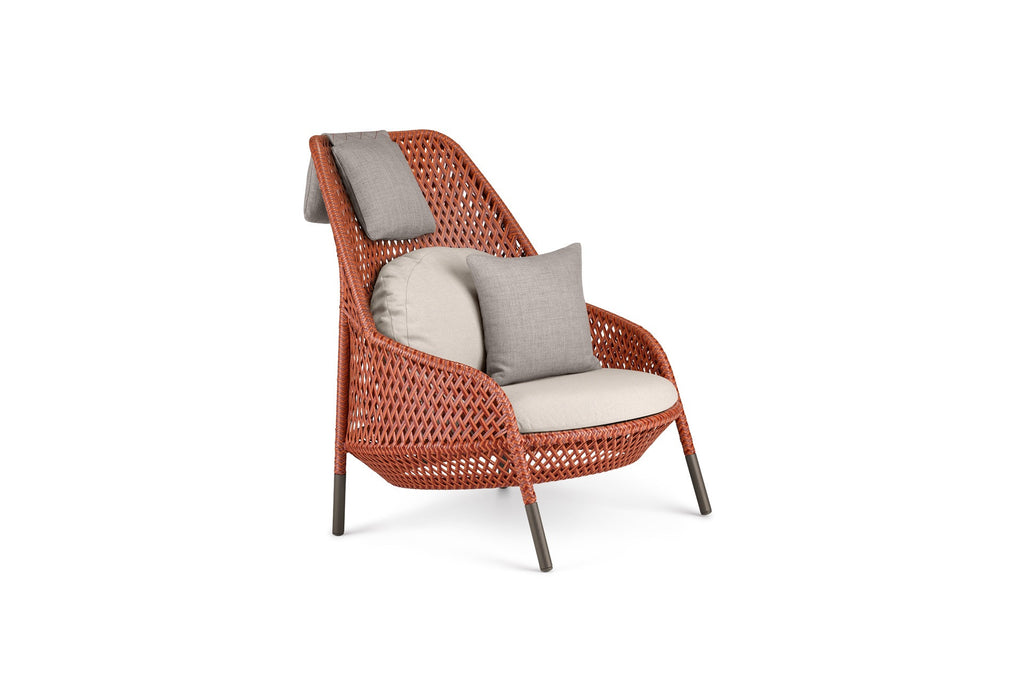AHNDA WING CHAIR  by Dedon, available at the Home Resource furniture store Sarasota Florida