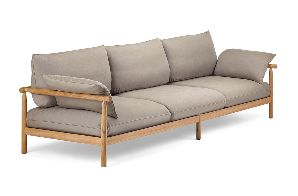 TIBBO 3 SEATER SOFA  by Dedon, available at the Home Resource furniture store Sarasota Florida