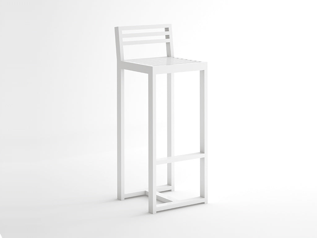 DNA HIGH BARSTOOL  by Gandia Blasco, available at the Home Resource furniture store Sarasota Florida