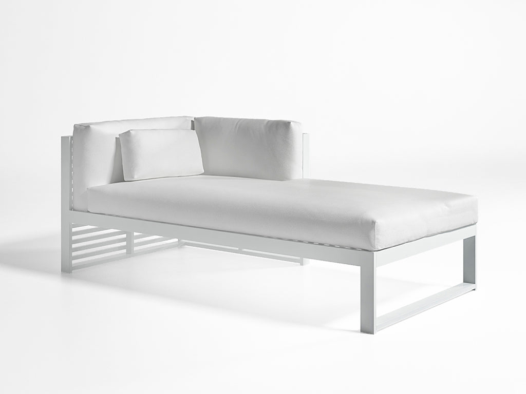 DNA MODULAR SECTIONAL CHAISE  by Gandia Blasco, available at the Home Resource furniture store Sarasota Florida
