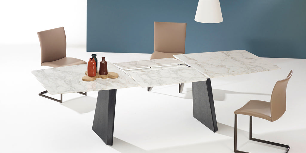 FONTANA DINING TABLE  by DRAENERT, available at the Home Resource furniture store Sarasota Florida