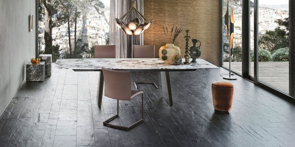 FONTANA DINING TABLE by DRAENERT for sale at Home Resource Modern Furniture Store Sarasota Florida